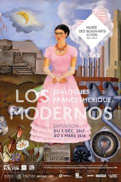 Affiche_los_modernos_Frida Kahlo